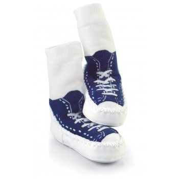 Mocc Ons Slipper Socks keep your little ones toes toasty!