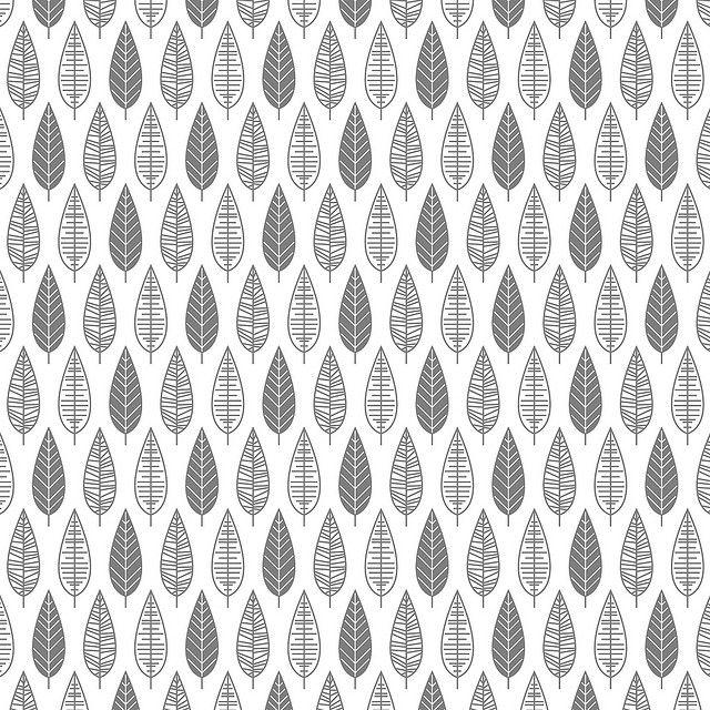 leaves pattern by anna niestroj