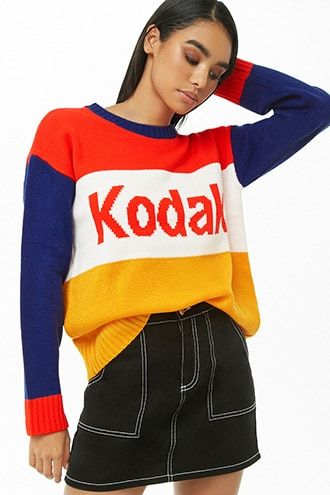 ad54d8c646cbf8 Kodak Knit Sweater | Products in 2019 | Sweaters, Christmas sweaters ...
