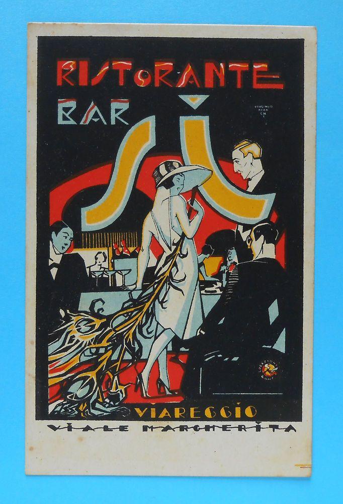 5872) Ristorante Bar SI Viareggio Illustratore V