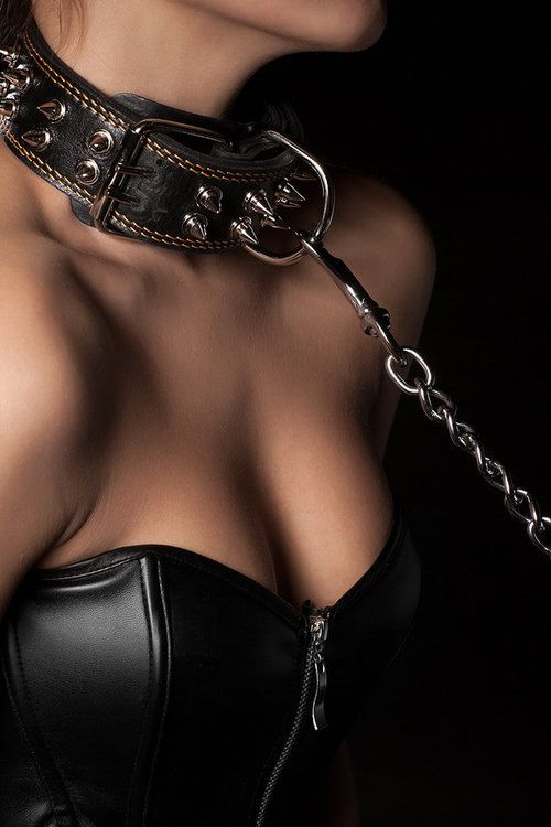 Collared male for female bdsm