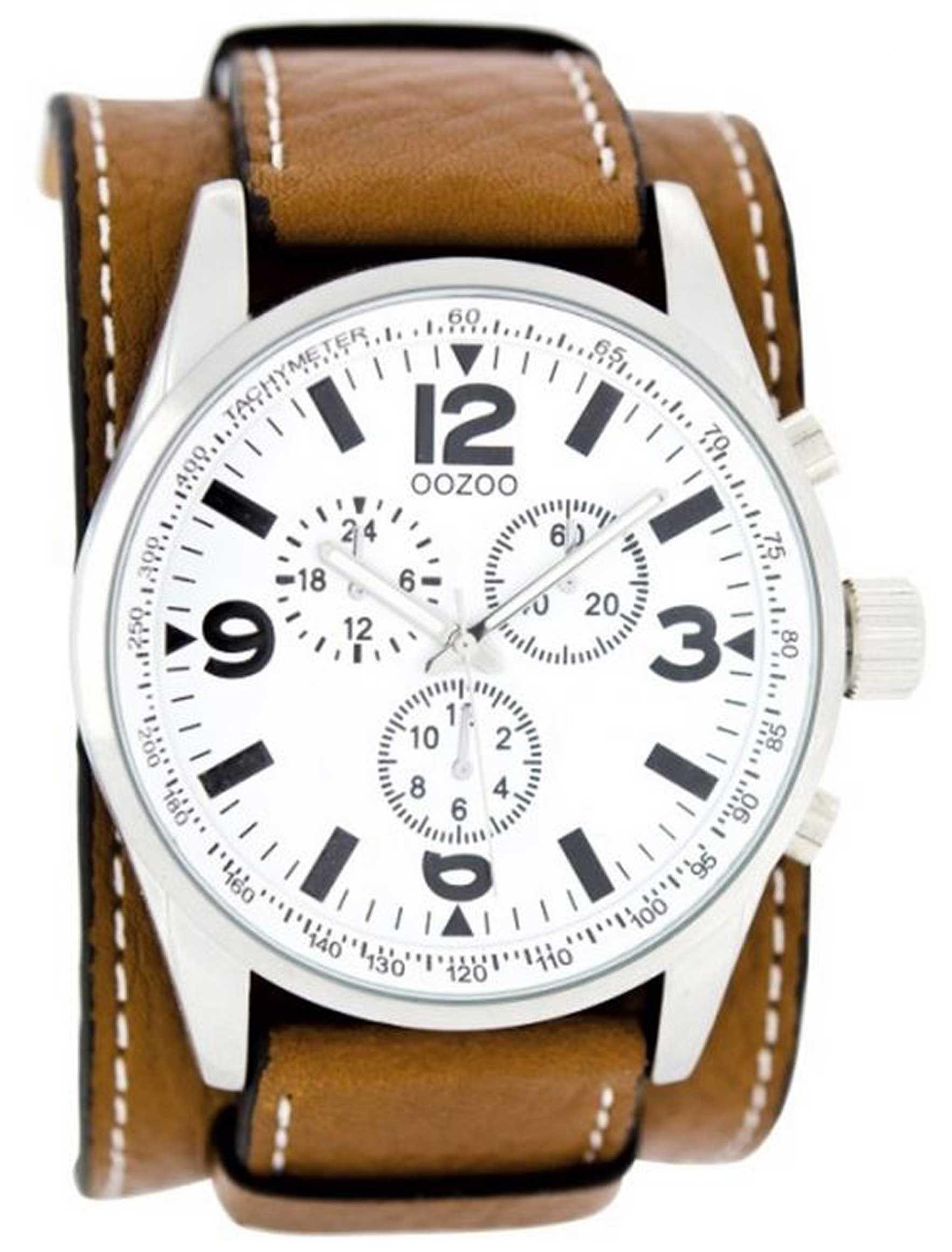 Rapt Oozoo Cognac Cuff Watch 89 Cuff Watch Accessories Leather Watch