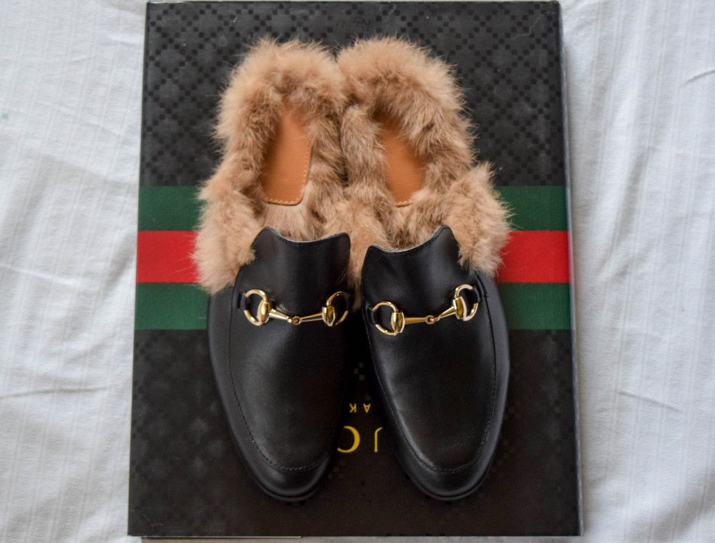 a8689642b2c The PERFECT Gucci Fur Loafer Imitation replica Knockoffs