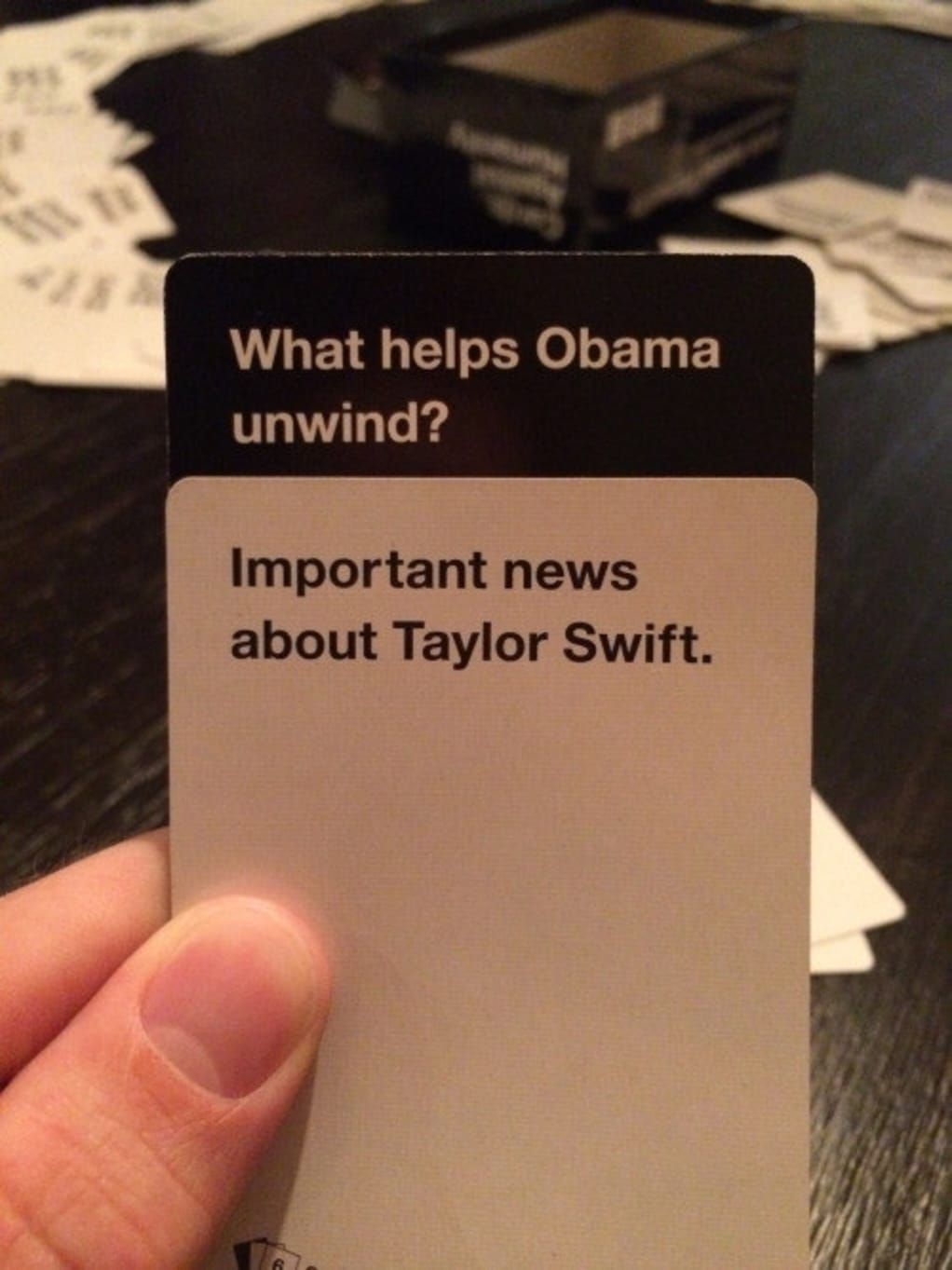 what do you meme cards against humanity