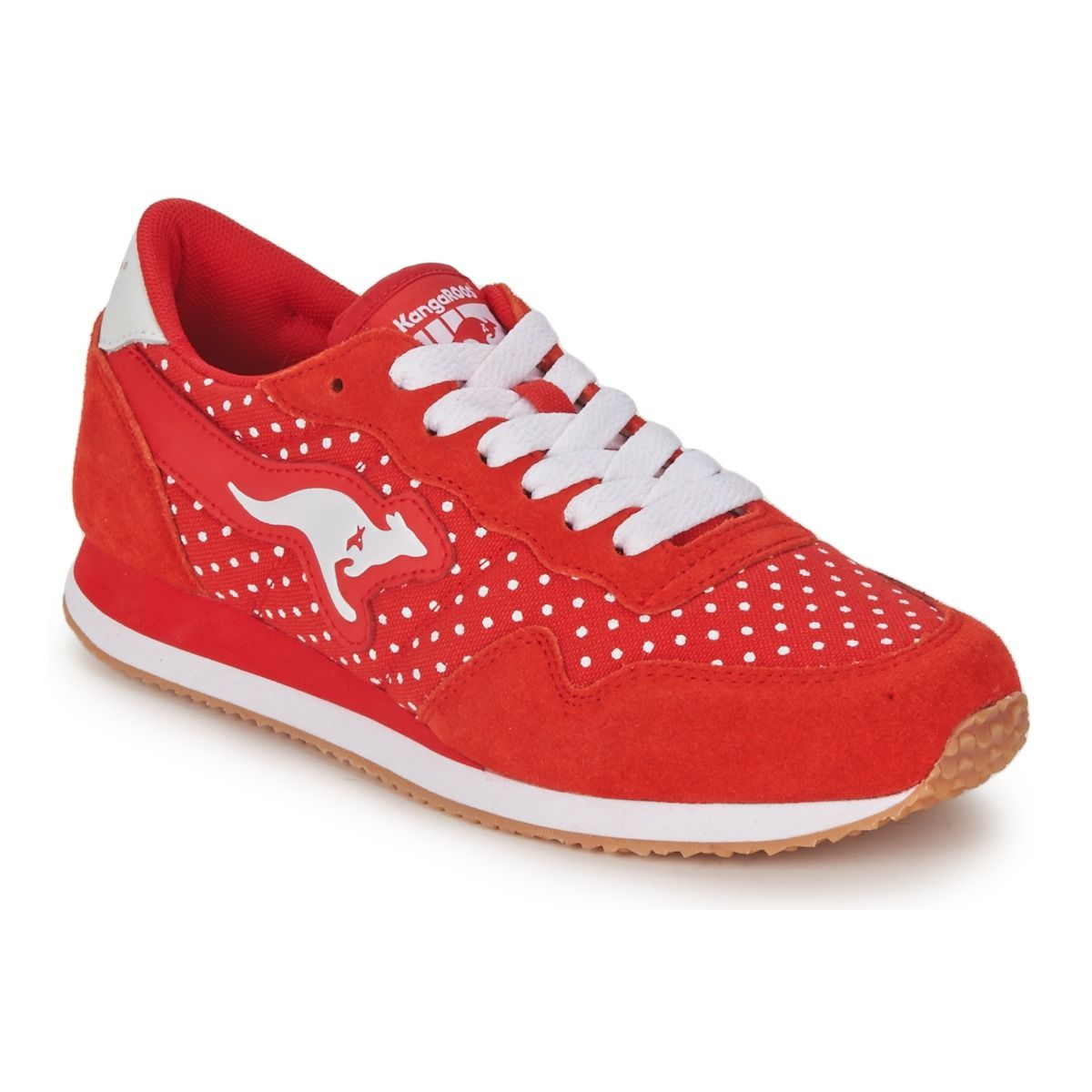 40fa087613c Kangaroos INVADER DOTS Rouge | Shoes Glorious Shoes | Shoes ...