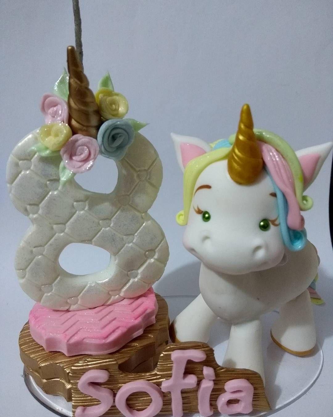 Artesanato Residencial San Miguel De Allende ~ Amei fazer! #biscuit #porcelanafria #coldporcelain #unicornio #unicorn #artesanato #