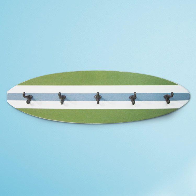 Kid S Beach Bathroom Print Set And Surfboard Towel Rack Project Cottage