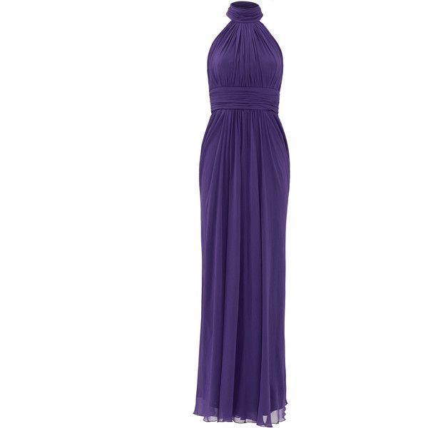 Rental Badgley Mischka Make Love Not War Gown ($85) ❤ liked on ...