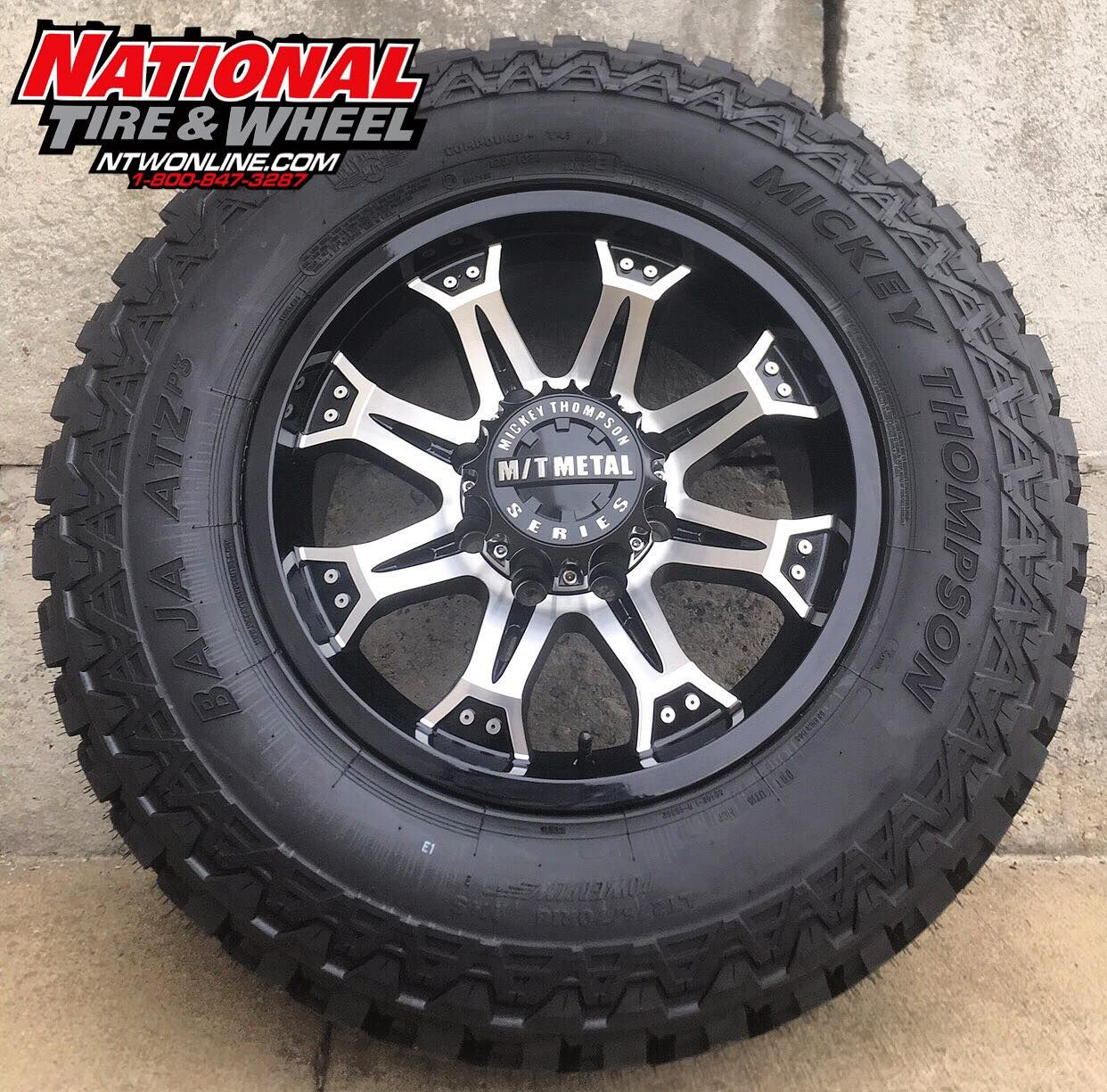 Off Road Rims And Tires Package >> Mickey Thompson Wheel & Tire Combo! 18X9 MM-164M laced up ...