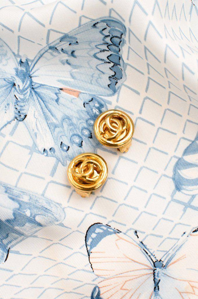 Chanel Mini CC Clip-on Earrings