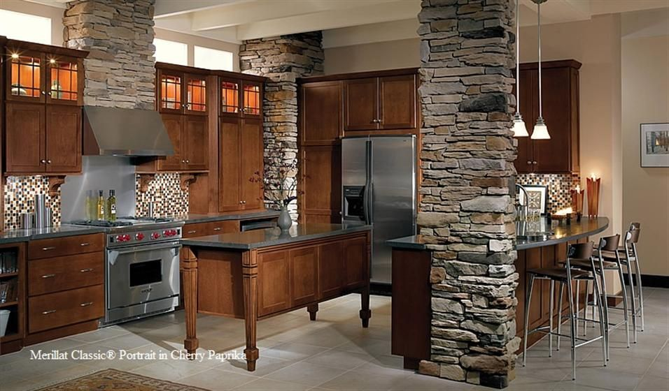 Exceptionnel Spring Valley Oak Cabinets From Merillat   Google Search