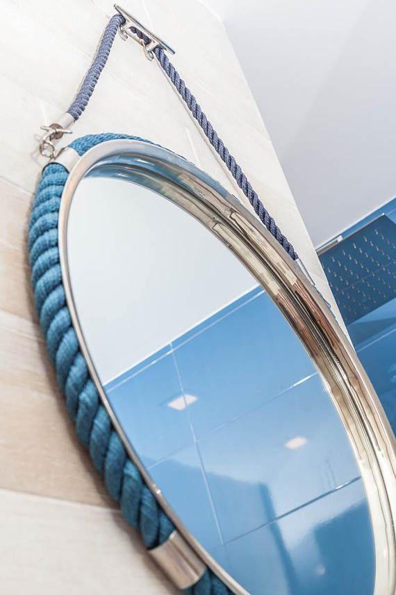 Bathroom Mirror Wall Nautical