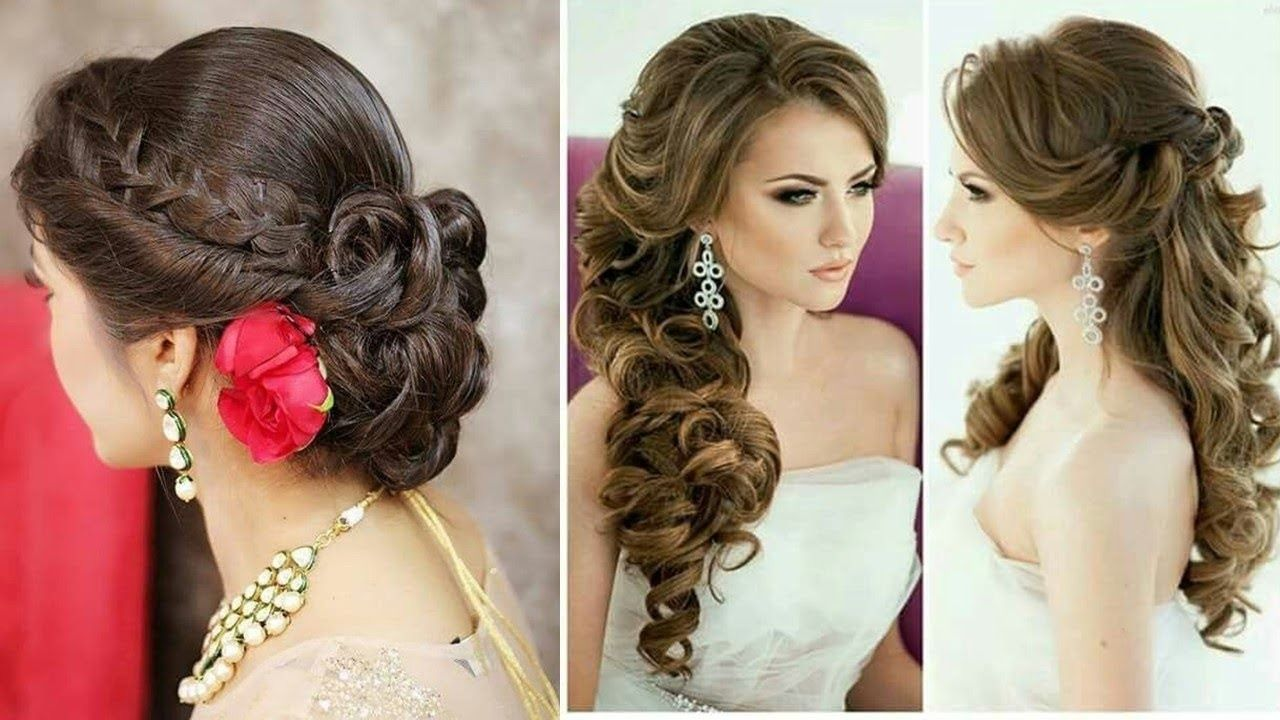 Absolutely Cute Hairstyle For Gown Dress Step By Step Tips Hairstyles For Gowns Easy Hairstyles Hairstyles For Long Dresses