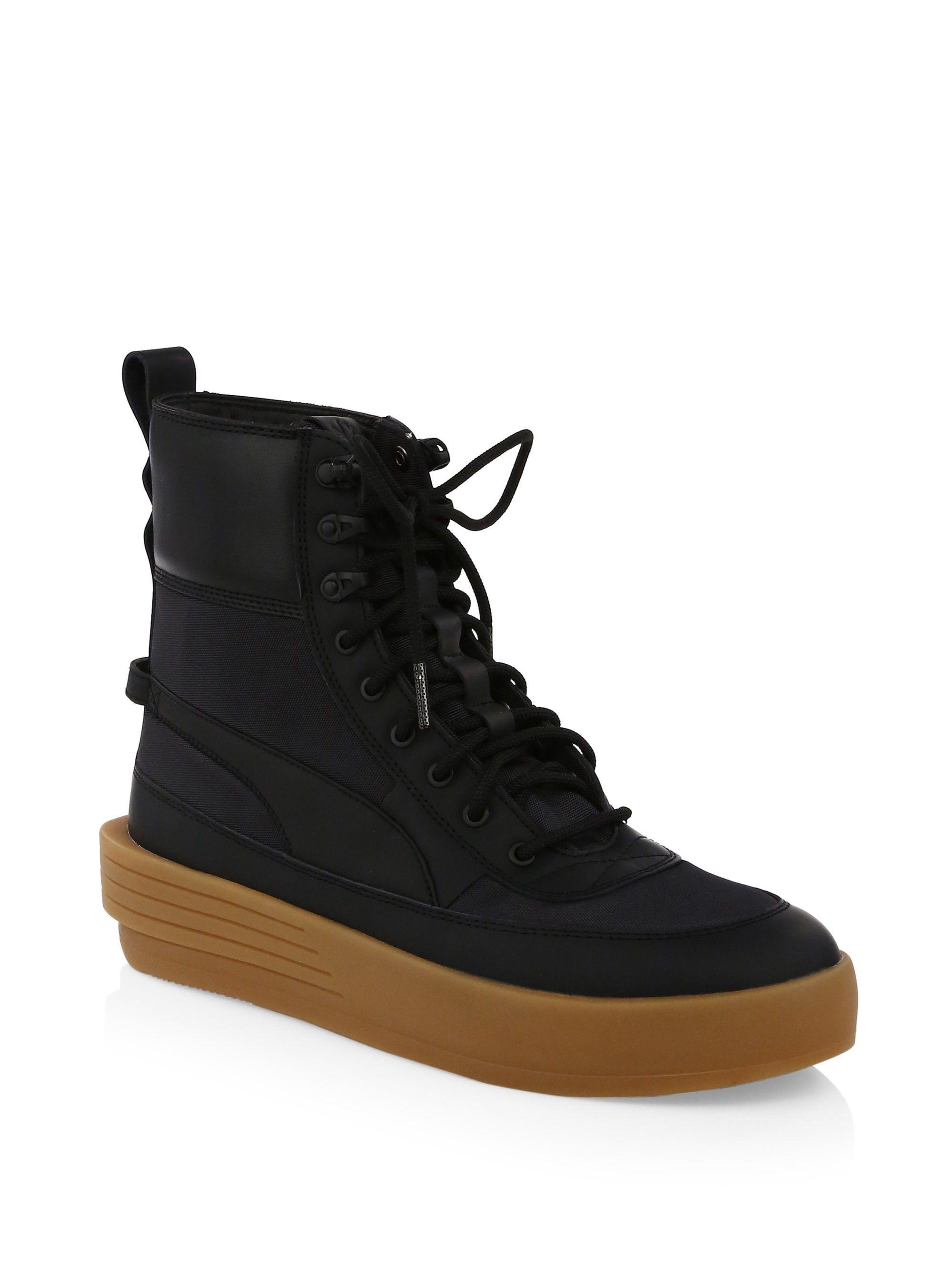 Puma Xo Parallel High-Top Sneakers - Black 10.5 d42ac4252