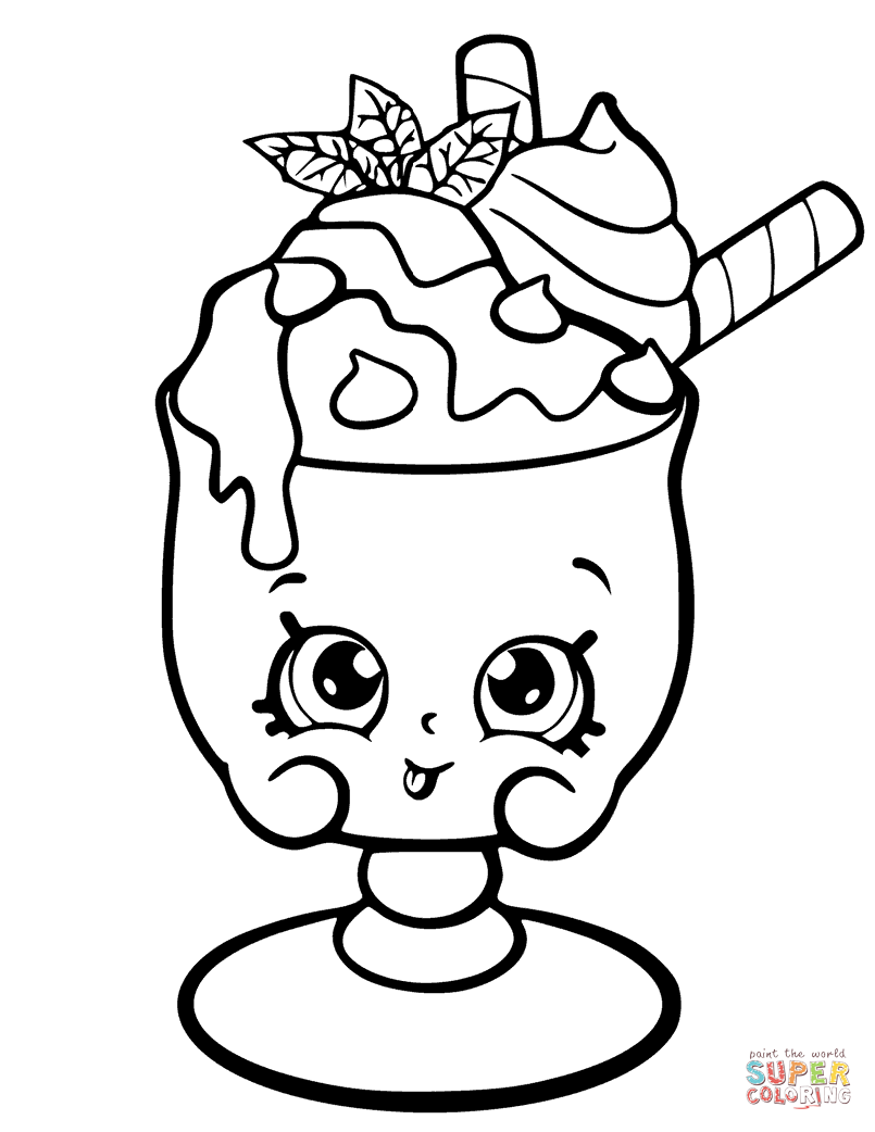 Related image | Shopkins colouring pages, Cute coloring pages