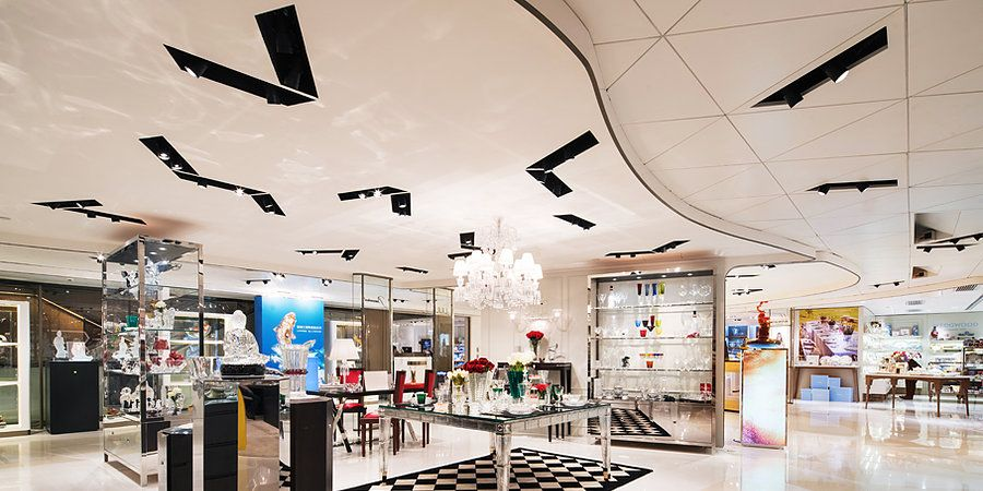 Sogo Club Hong Kong By Alexander Wong Architects Retail Design Department S Interior Design Companies Cheap Interior Wall Paneling Interior Design Projects