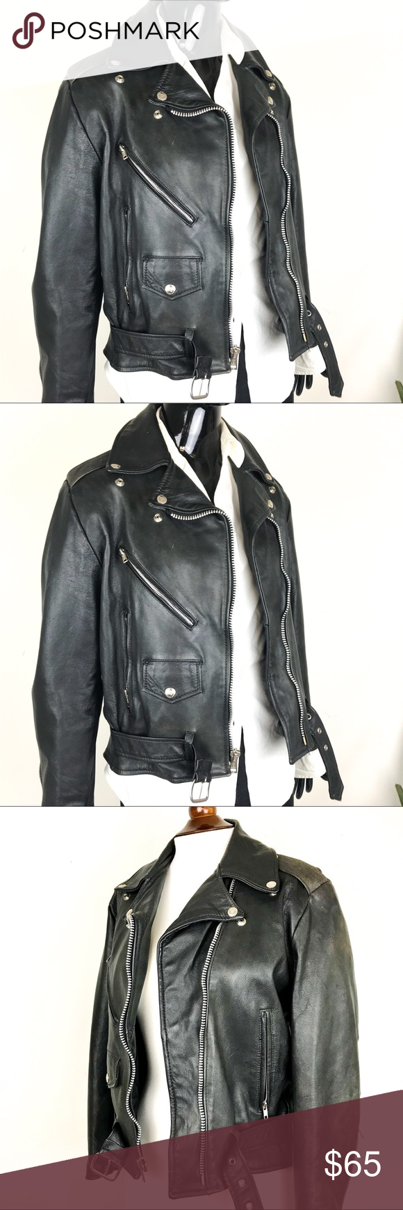 Vintage Excelled Faux Leather Moto Jacket Size 8 Vintage Leather Motorcycle Jacket Leather Moto Jacket Motorcycle Jacket [ 1740 x 580 Pixel ]