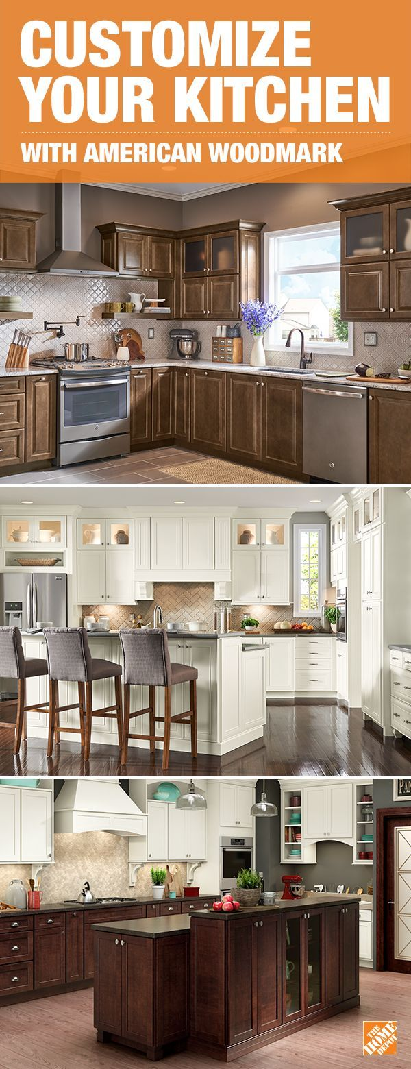 Refresh your home with sophisticated transitional cabinet styles