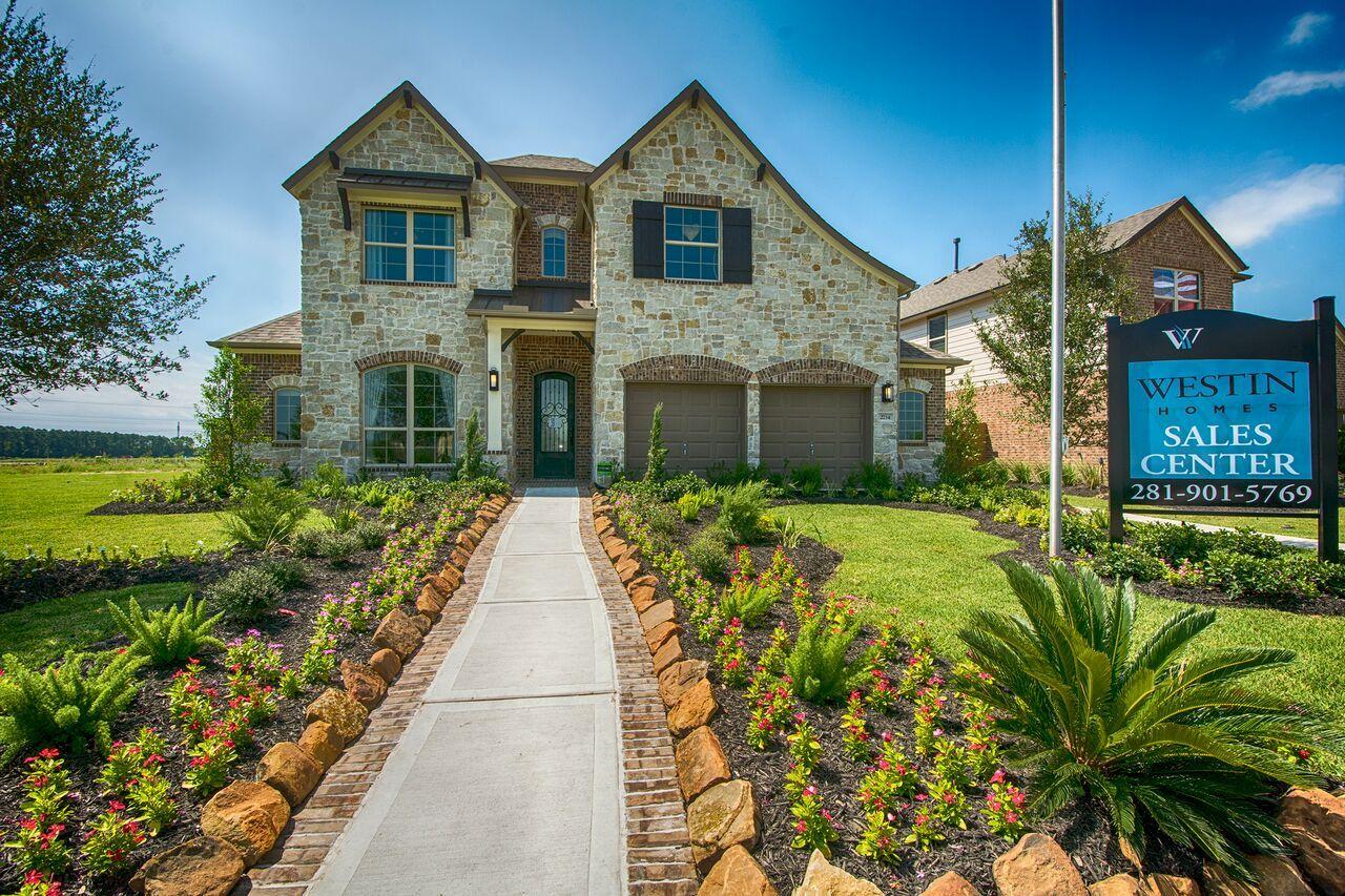 Westin Homes - Houston Home Builder - The Preston Floorplan ...