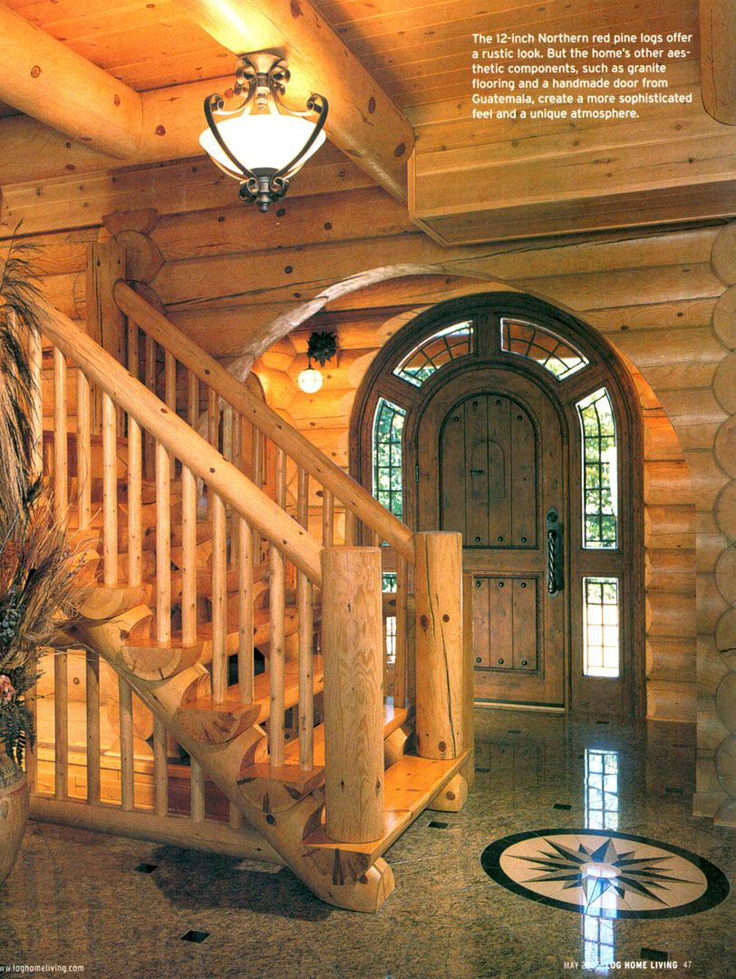 Attractive Log Cabins Exterior Pictures | Log Homes Custom Rustic Cabin Photos Http Www  Satterwhite Log Homes .