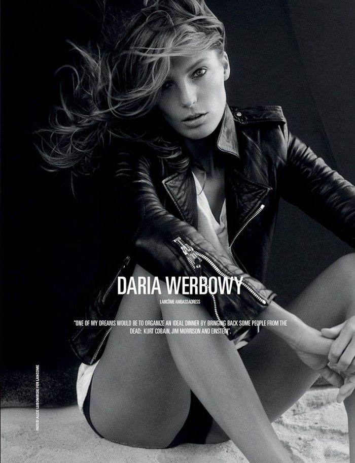 859c624bb489f Daria Werbowy Daria Werbowy, International Fashion, Fashion Pictures,  People, Her Style,