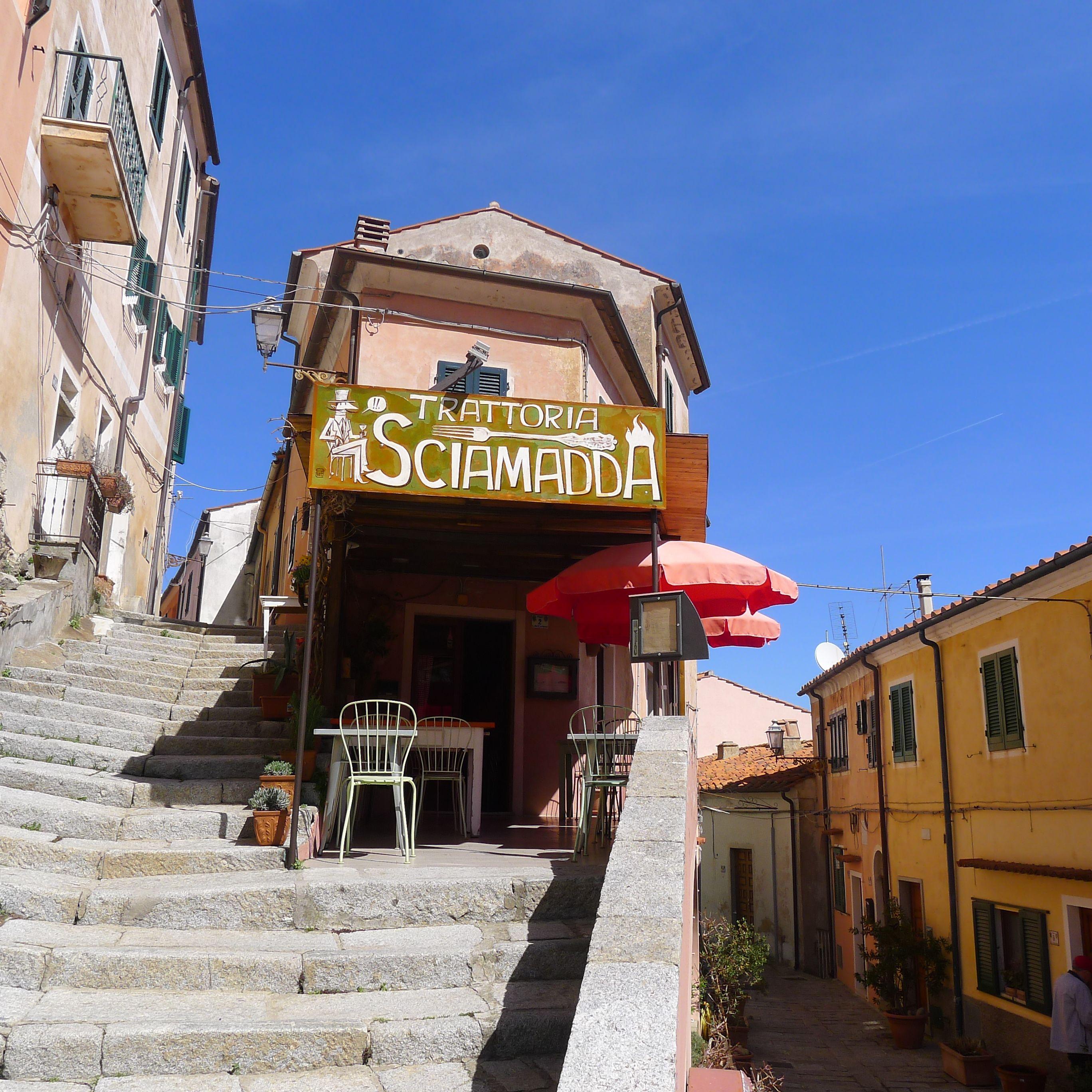 SCIAMADDA Trattoria Ligure Poggio Isola d'Elba
