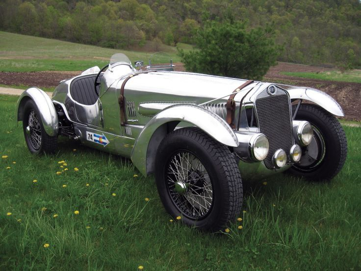 ✤ 1937 Delage D6-3L Grand Prix retro race racing q