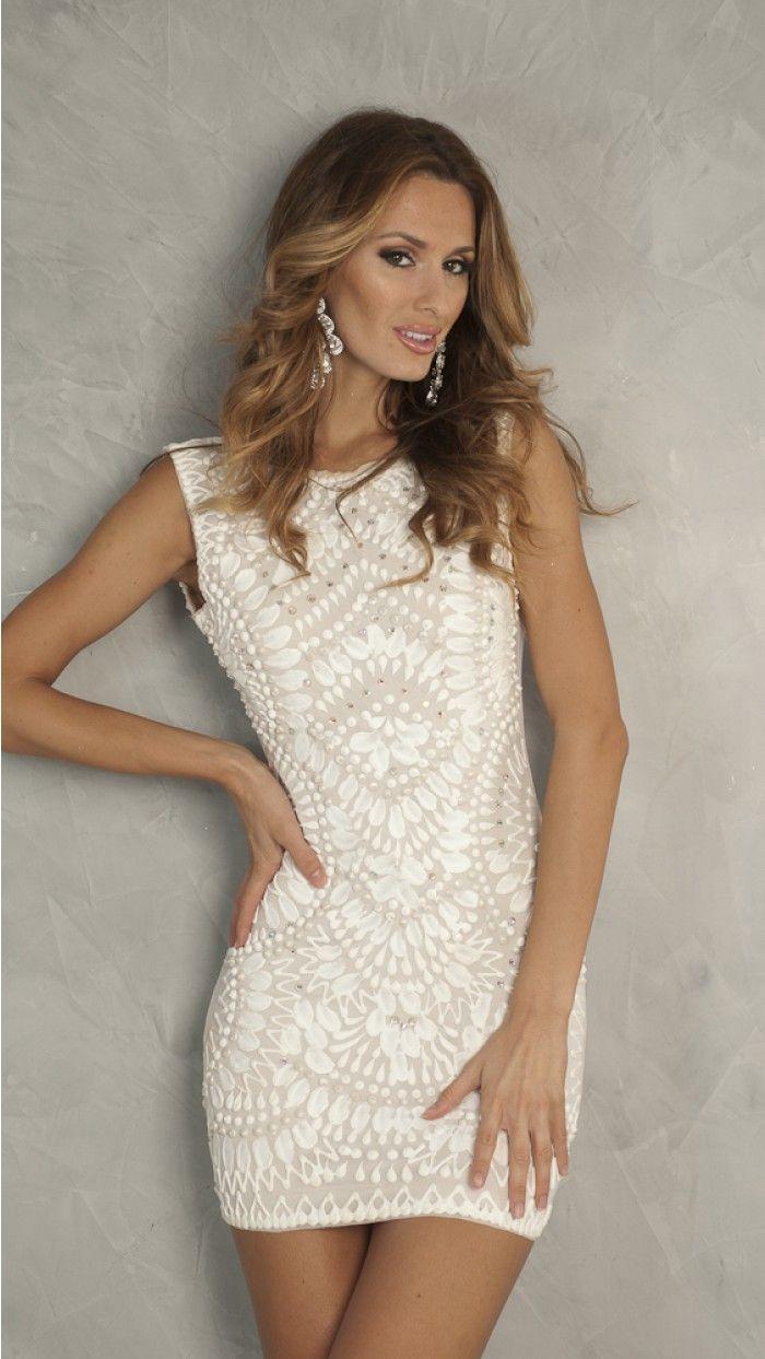 Lia Dress In White Short Dresses Short Dresses Vegas