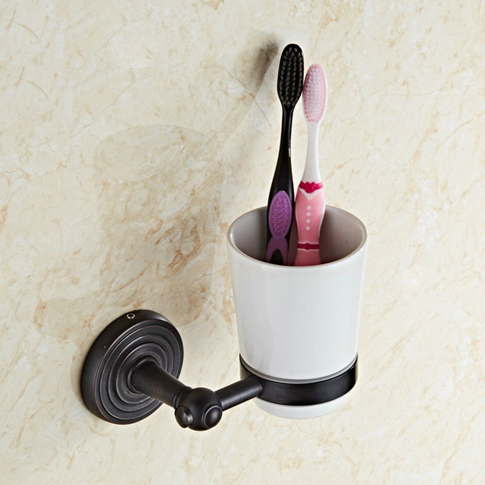 Bathroom Accessories For Men antique brass toothbrush holder black cup bathroom holder single