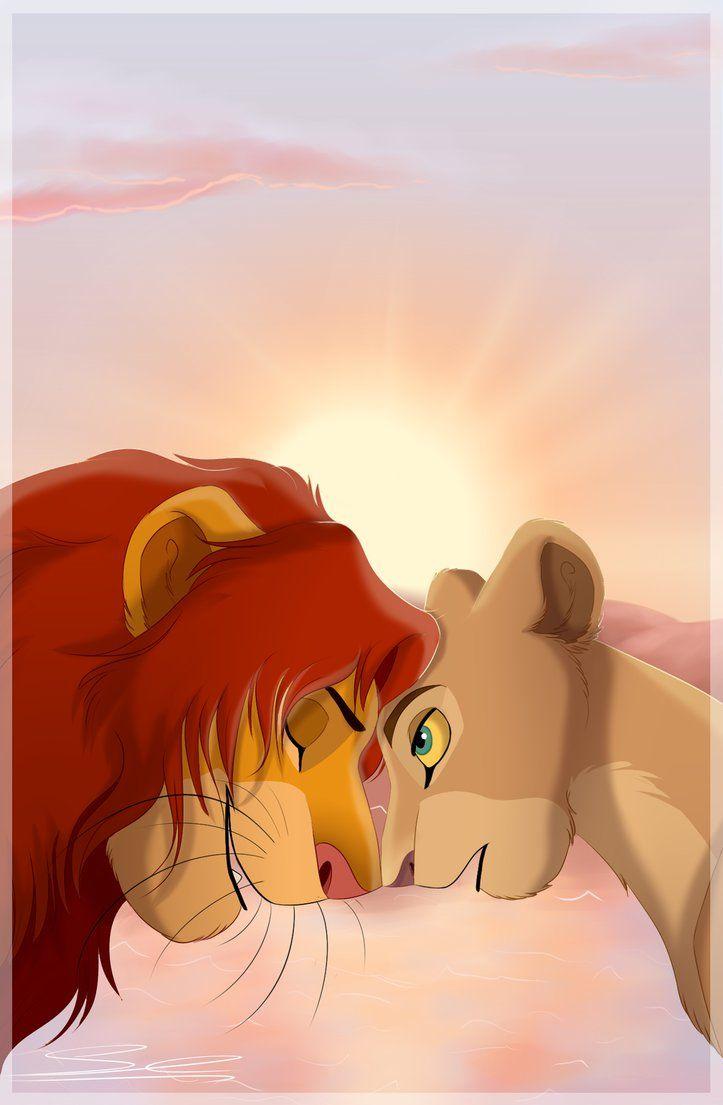 Forever Simba And Nala Disney Wallpaper Lion King Art Disney Lion King