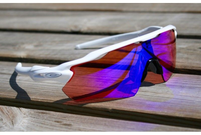 Radar Ev Path Custom Polished White Prizm   Wallets Sun Glasses ... f1e54bd490