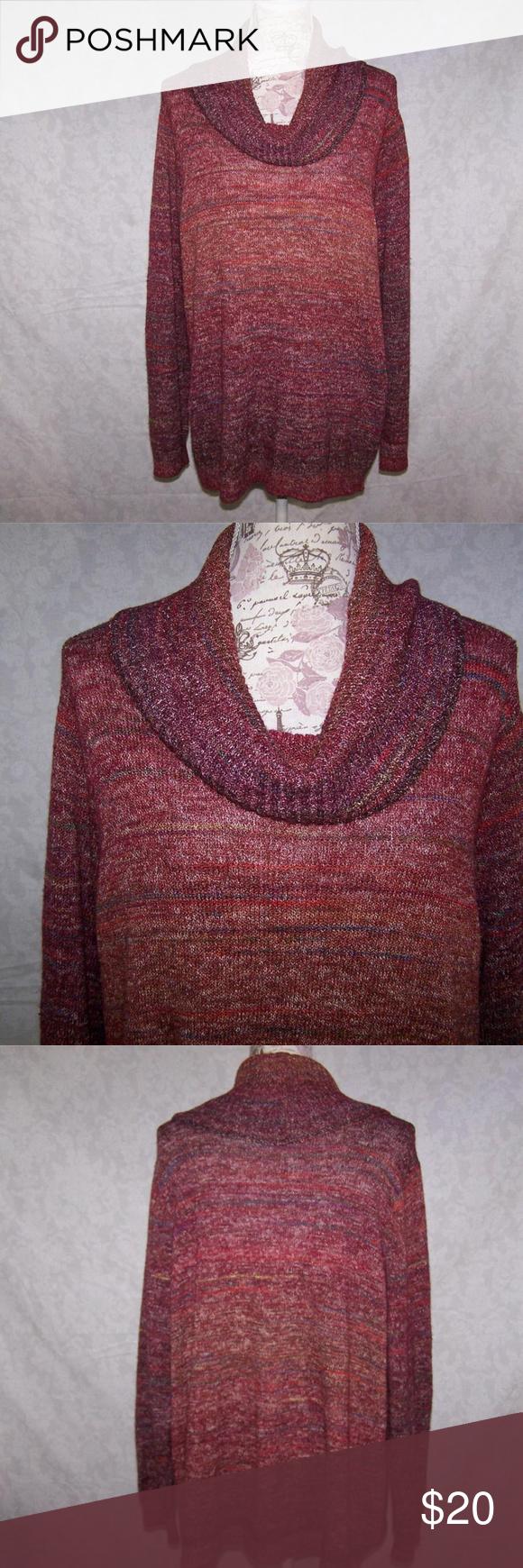 89th Madison Sweater Top Plus 3x Cowl Neck Pinterest Cowl Neck