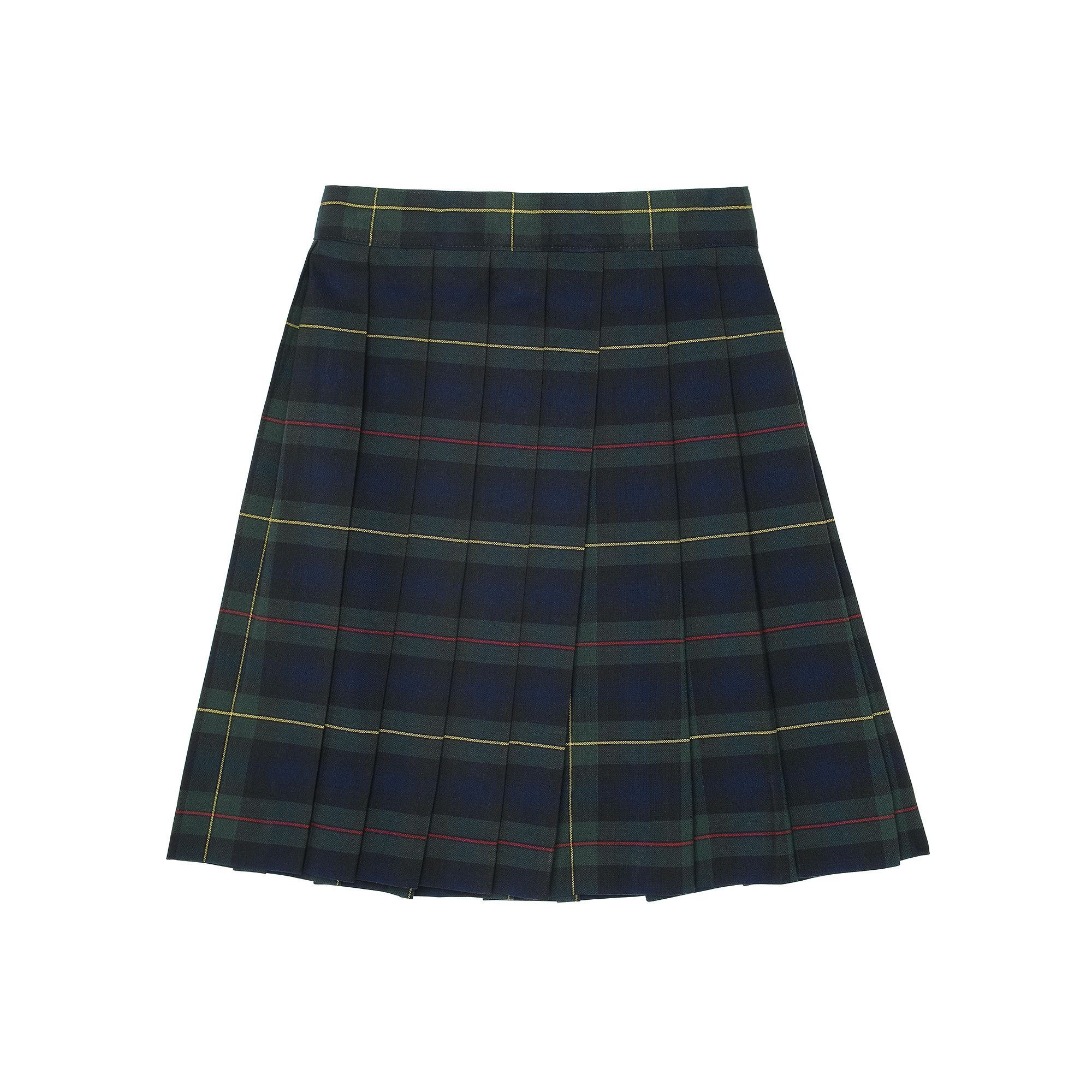 3f8c577974 Girls 4-20 & Plus Size French Toast School Uniform Plaid Pleated Skirt,  Girl's, Size: 12 Plus, Green Oth