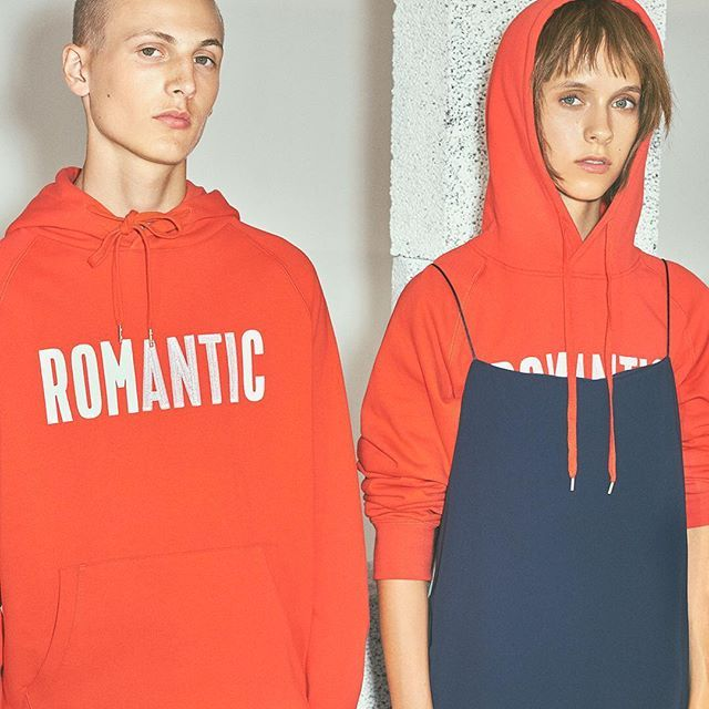 ROMANTIC The much anticipated Romantic hoodies for both men and women from the WWSS017 collection has pre-launched at @woodwood_copenhagen & @woodwood_frederiksberg and online now. The hoodies will go for sale in Berlin and Aarhus on Monday. #woodwood #WWSS017 @w00dw00d