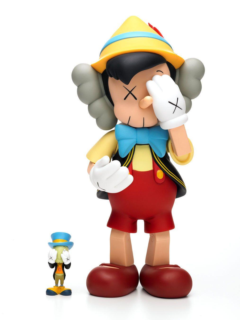 c1f39b1df1da11 Original Fake Pinocchio and Jiminy Cricket