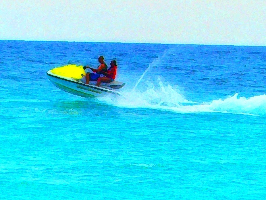 Jet Skiing In St Thomas Adventure Travel Caribbean Islands Jet Ski