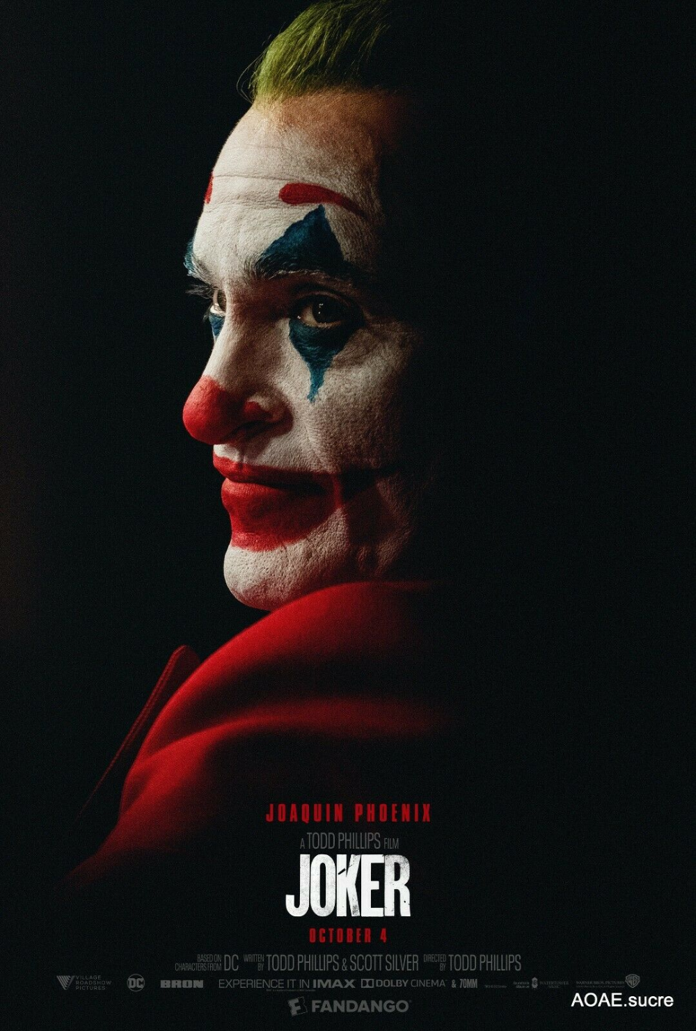 Joaquin Phoenix As The Joker With Images Joker Poster