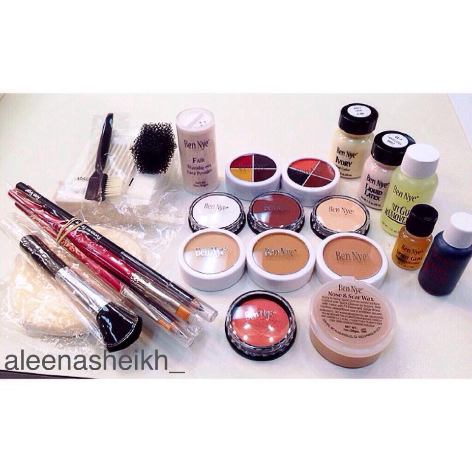 Ben Bye Makeup Kit My Special Thanks Goes To This Kit Sfx Special Effects Mua Special Effects Makeup Gore Special Makeup Haloween Makeup