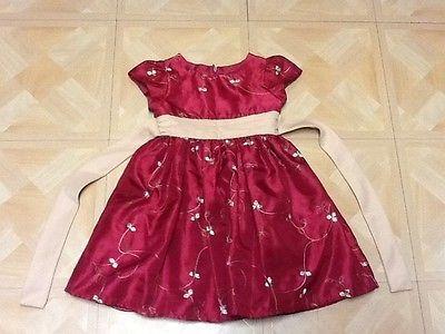 EUC- Girls Size 4 Holiday Dress