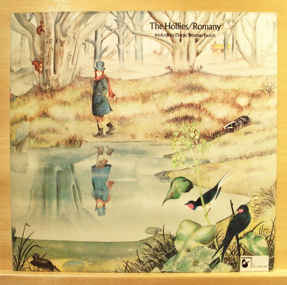THE HOLLIES - Romany - Vinyl LP - Hansa - FOC - Magic Woman Touch - Top Rare