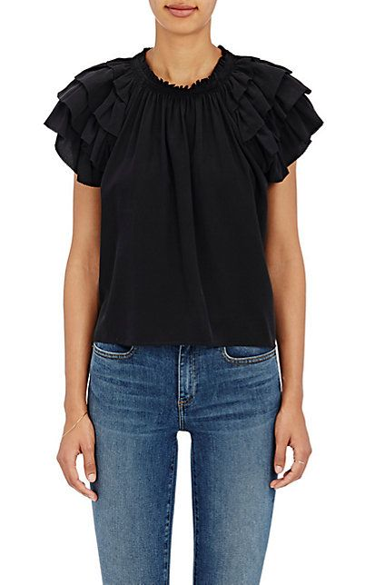 3b16b763f893c We Adore  The Leoda Silk Top from Ulla Johnson at Barneys New York ...