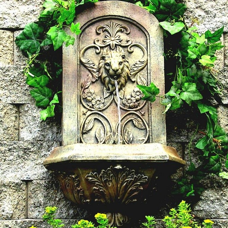 37 Good Large Outdoor Wall Fountains Design Ideas #gardening #garden