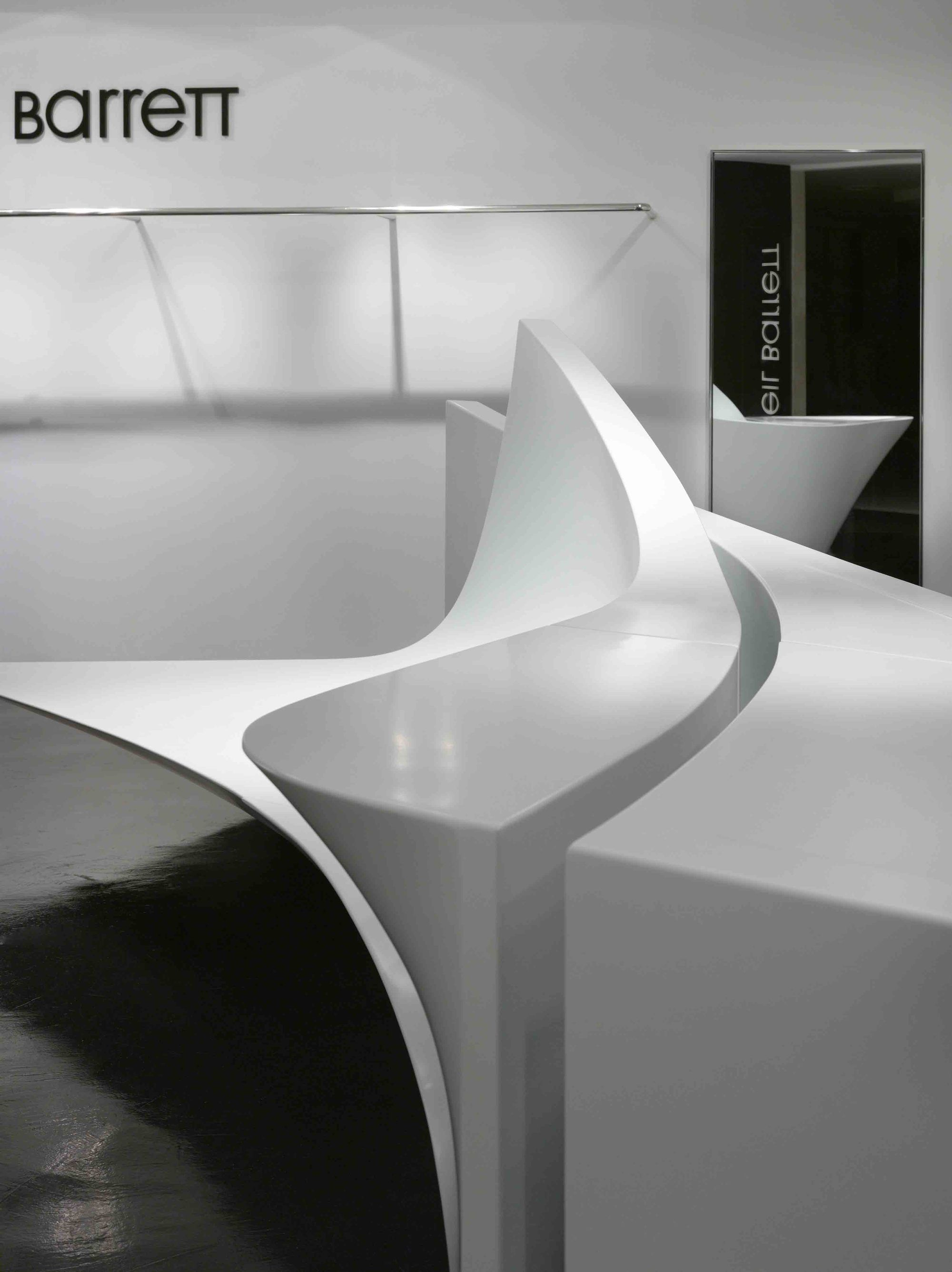 Famous Chairs By Architects Gallery Of Neil Barrett 39shop In Shop 39 Zaha Hadid