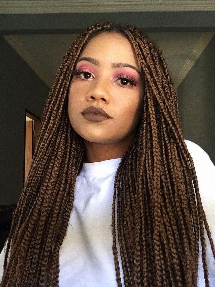 11+ Caramel box braids trends