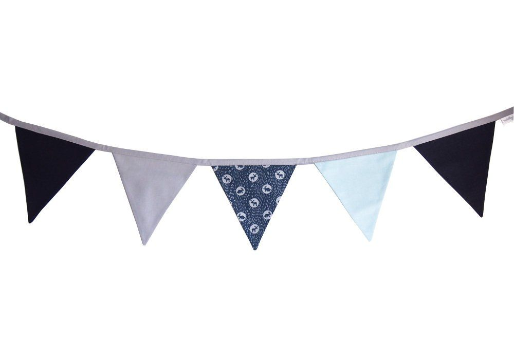 Gray Navy Blue Flag Bunting Banner Fabric Flag Banner Flag Etsy Fabric Flag Banners Bunting Banner Fabric Flags