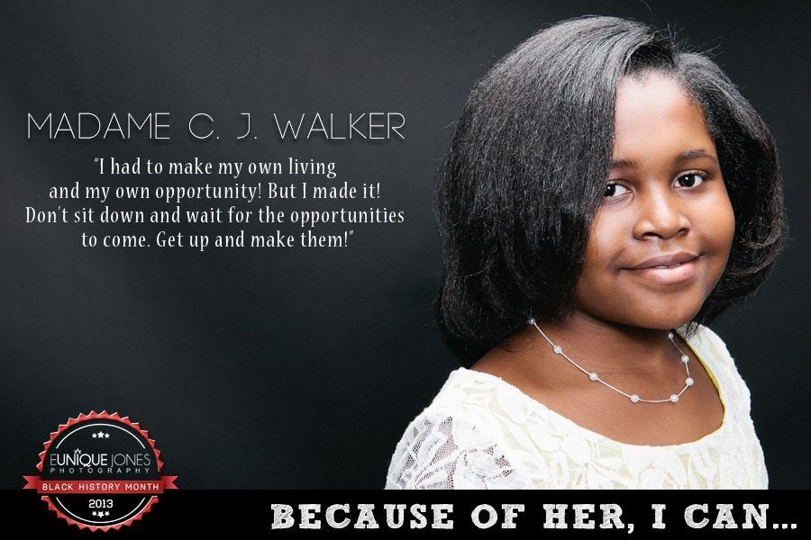 Madam Cj Walker Quotes Amazing Madame Cj Walker  Madam C.jwalker  Because Of Them We Can . Decorating Inspiration