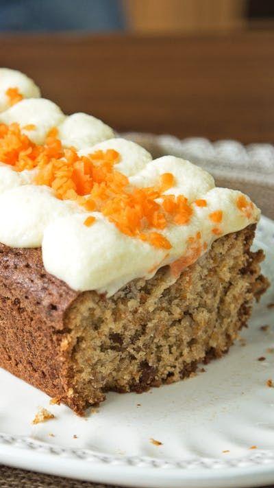 Carrot Cake Deliciosa ~ Receta