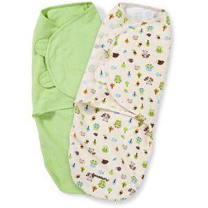 Summer Infant SwaddleMe Swaddling Blanket, Woodland Friends, Large, 2pk walmart