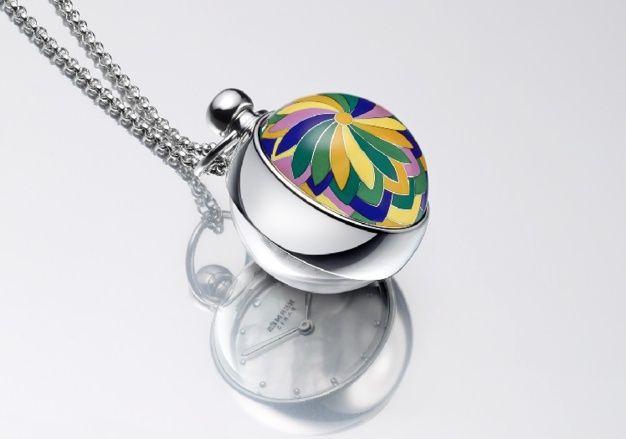 Hermes pendentif Boule émail cloisonné
