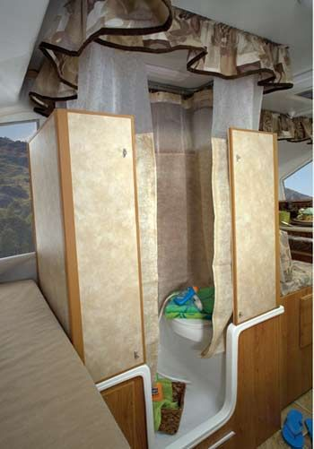 Jayco Select Camping Trailer Interior Bathroom
